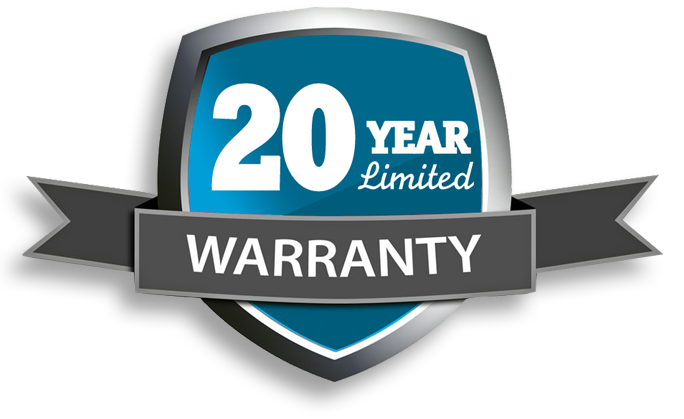20 Year Limited Warranty Image